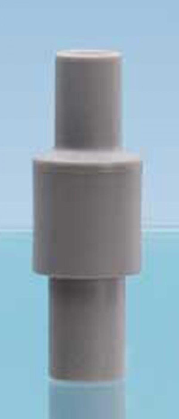 "Bend-proof flexible adaptor for aspirators,  Ø 0.24"""