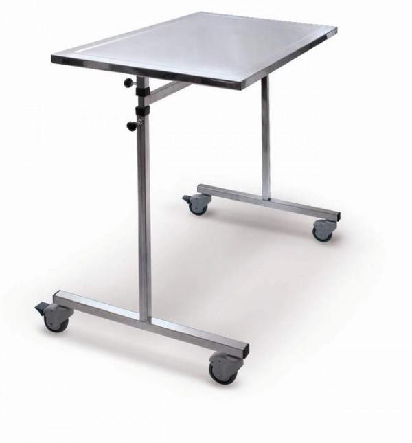Tavolo ponte con regolazione manuale in altezza da 90 a 180 cm (tray: 60x90 cm) - Weight 15 Kg
