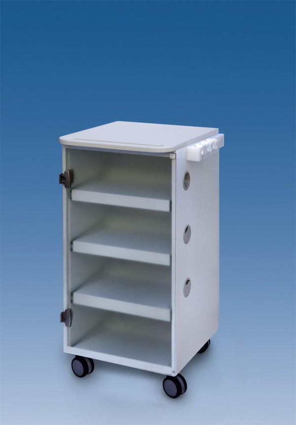 LC Implant Suite - 3 removable shelves - white col.