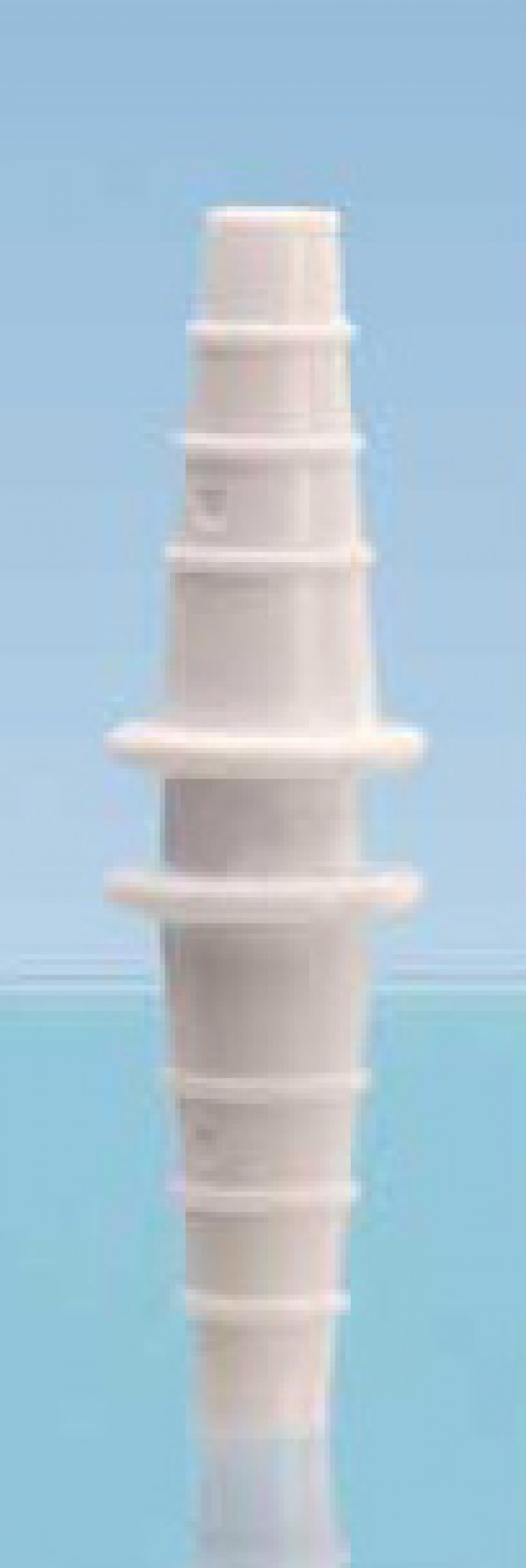"Terminal adaptor for aspirators  Ø 0.24"""