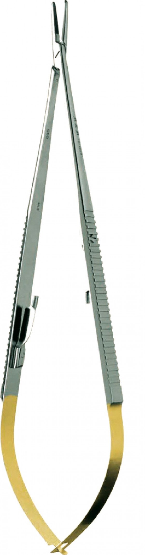 "TC Castroviejo 5.52"" , straight, flat handle"