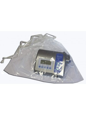 "Transparent bag 26.4""-29.55"" with sliding strings for physiodispenser or controlling unit"