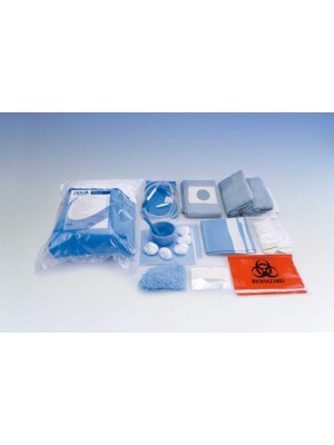 Oral Surgery Set - Adhesive Hole Surgical Drape