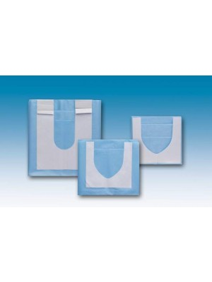 "Drape  29.55""x35.46""  with adhesive U shape 4.33""x3.55"""