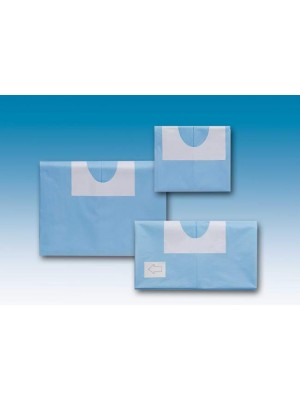 """Drape  39.4""""x59.1"""" with adhesive off center hole  4.33""""x3.55"""""""