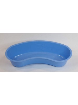 Disposable kidney-shaped dish or bowl