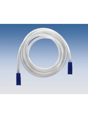 Suction aspiration tubing 6.07 ft with conic joint