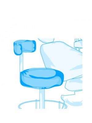 Back cover for clinitian seat
