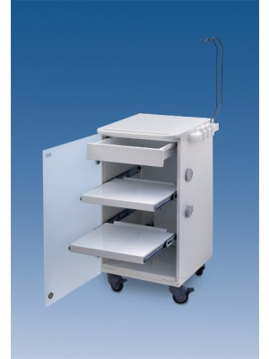 LC implant Suite - 2 removable shelves + 1 drawer - white col.