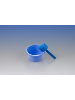 Bowl 8.45 oz + sponge for patient disinfection