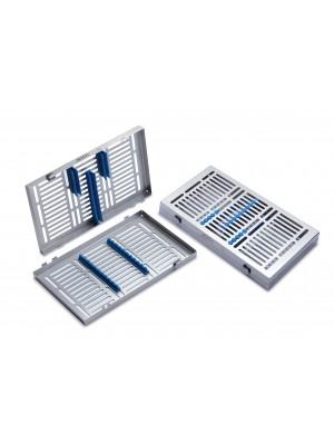 Tray per 10 strumenti,dimensioni 288x182x34 mm